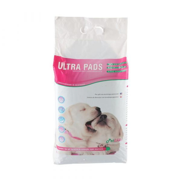 Tapete Higiênico WC Dog para Cães 60x60cm 30 Unidades PetLike