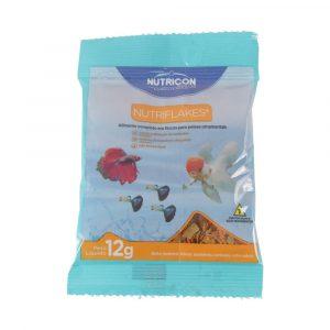 Ração Nutricon para Peixes Nutriflakes 12g