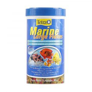 Ração para Peixe Marine Large Flakes 80g