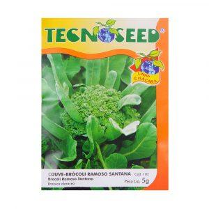 Semente Tecnoseed Couve-Brócoli Ramoso Santana 5g