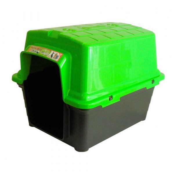 Casinha Plástica N04 Furacão Pet Verde