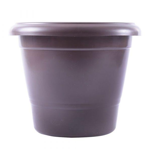 Vaso Plástico Nutriplan Terracota Cor Tabaco N02