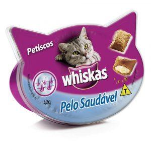Petiscos Whiskas Pelo Saudável 40g
