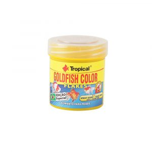 Ração Tropical Goldfish Color Flakes 12g