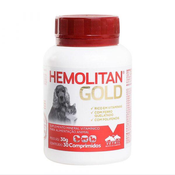 Hemolitan Gold 30 comprimidos