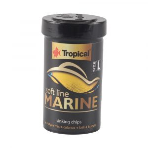 Ração Tropical Soft Line Marine Grânulos Grandes (Chips) 52g