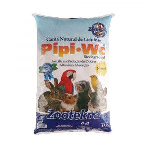 Cama Natural de Celulose Aroma Natural Pipi WC 1Kg Zootekna