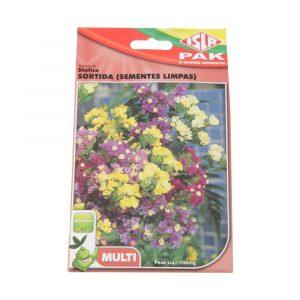 Semente Flores Statice Sortida (Sementes Limpas) 100mg