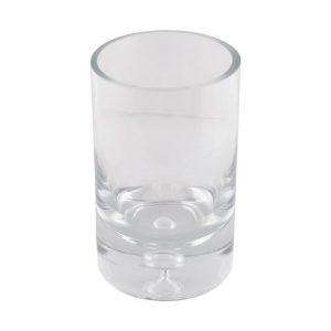 Vaso Cilíndrico Redondo de Vidro 20cm GF30783