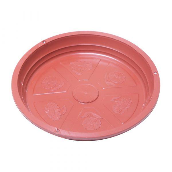 Prato Plástico Nutriplan Cor Cerâmica N02