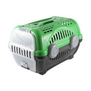 Caixa de Transporte Luxo N01 Verde Furacão Pet