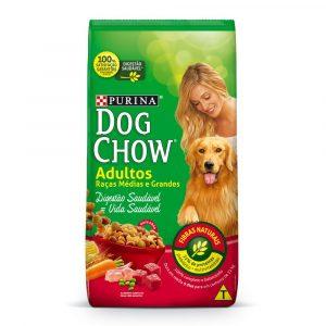 Ração Purina Dog Chow Adulto Raças Médias e Grandes 10,1Kg