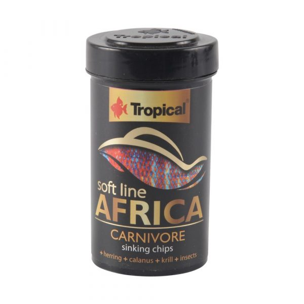 Ração Tropical Soft Line Africa Carnivore 52g