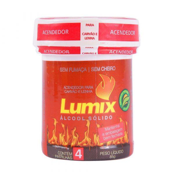 Acendedor para Carvão e Lenha Lumix Gel 85g