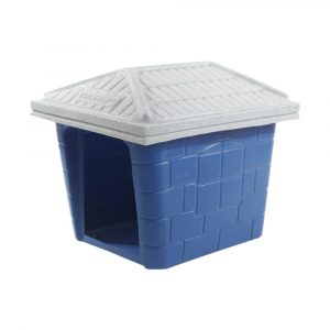 Casinha Clicknew Telhado Europeu N01 Azul Rotoplas