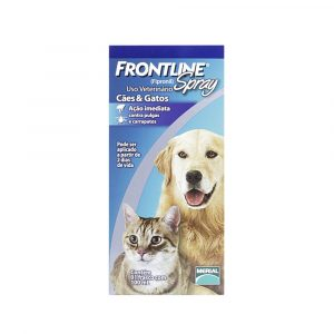 Antipulgas e Carrapatos Frontline Spray 100ml