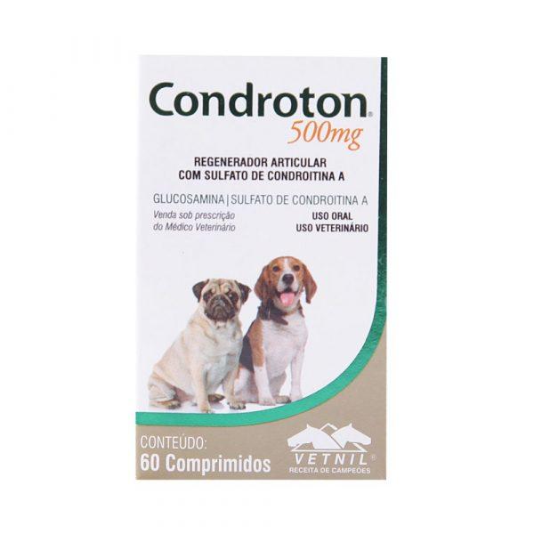 Condroton 500mg - Com 60 Comprimidos