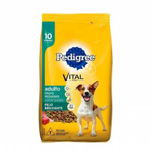 Ração Pedigree para Cães Adultos Raças Pequena 10,1kg