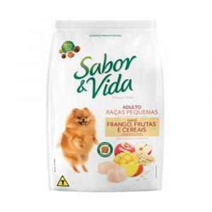 Ração Sabor & Vida para Cães Adultos Raças Pequenas1kg