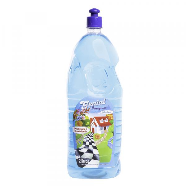 Desinfetante e Desodorizante Genial Bouquet Marine 2L