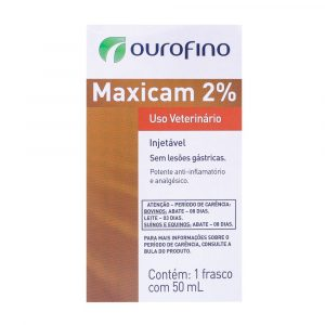 Maxicam Injetável 2% 50ml Ouro Fino