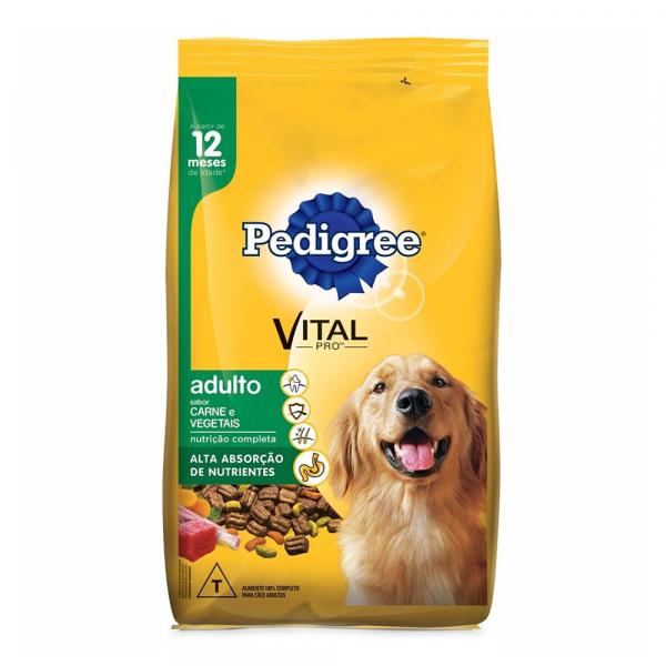 Ração Pedigree Carne Vegetais 03,0kg