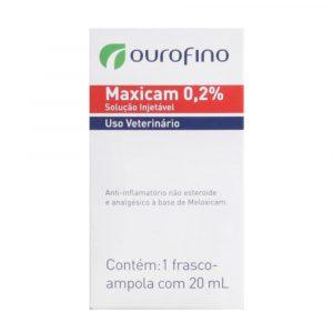 Maxicam 0,2% Solução Injetável 20mL