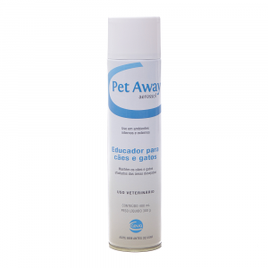 Educador Para Caes e Gatos Pet Away Aerosol 400ml
