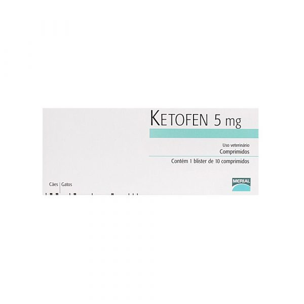 Ketofen 5mg com 10 Comprimidos