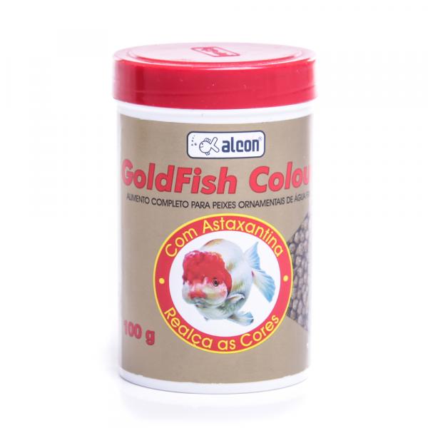 Ração para Peixe Alcon Goldfish Colour 100g