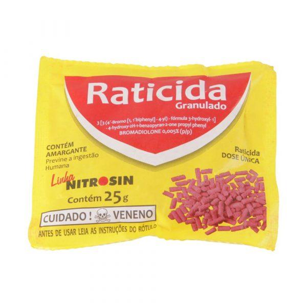 Raticida Nitrosin Peletes 25g