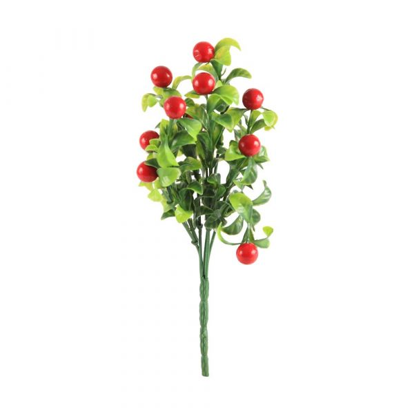 Bouquet Frutas X5 Plastic Vermelho 22605-009 Grillo