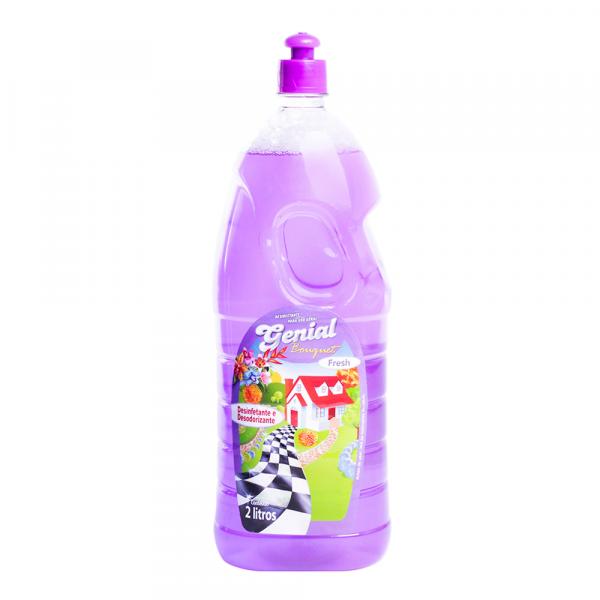 Desinfetante e Desodorizante Genial Bouquet Fresh 2L
