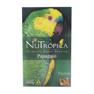 Ração Nutrópica Papagaio com Frutas 600g