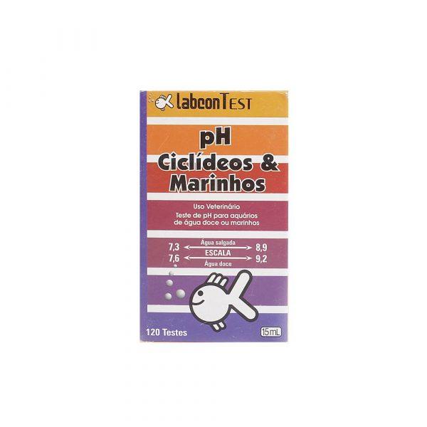 Labcon Teste Ph Ciclideos e Marinhos