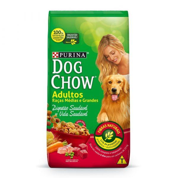 Ração Purina Dog Chow Adulto Raças Médias e Grandes 20kg