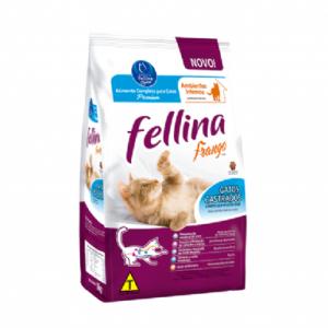 Ração Fellina para Gatos Castrados Sabor Frango 10kg