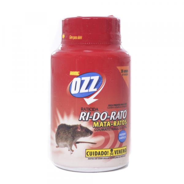 Raticida OZZ RI- DO- RATO Farelo 100g