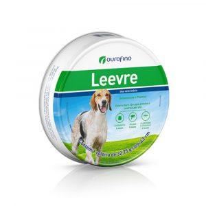 Coleira Leevre Ectoparasiticida para Cães 63cm Ouro Fino
