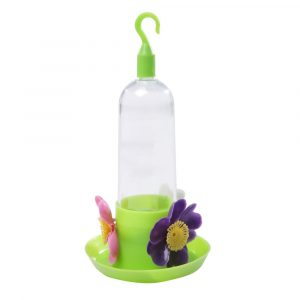 Bebedouro Beija-Flor Mini com Bandeja cor Verde 388408