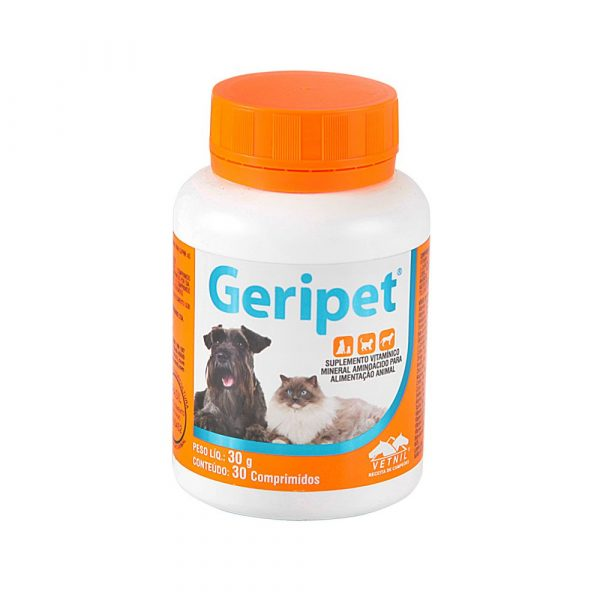 Geripet com 30 Comprimidos