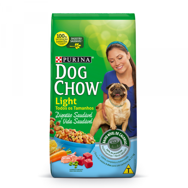 Ração Purina Dog Chow Light 1kg