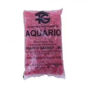 Cascalho Quartzo Vermelho 834g