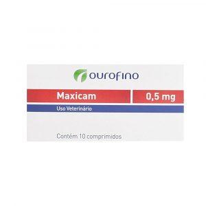 Maxicam 0,5mg Caixa com 10 Comprimidos