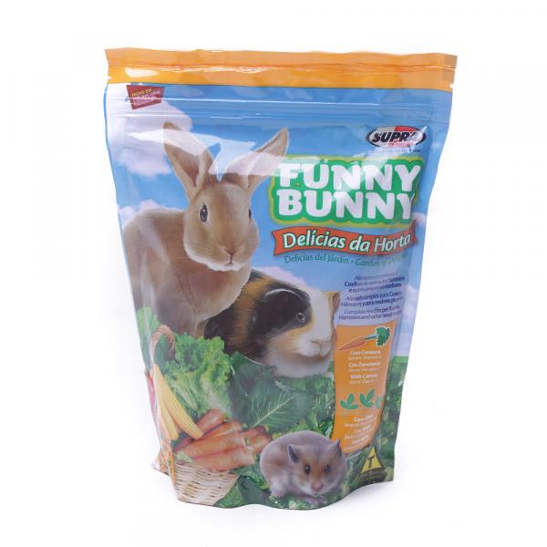 Ração Funny Bunny para Roedores Delícias da Horta 500g