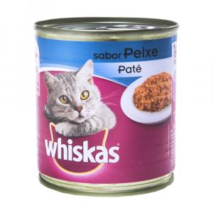 Ração Whiskas para Gatos Sabor Peixe Lata 290g