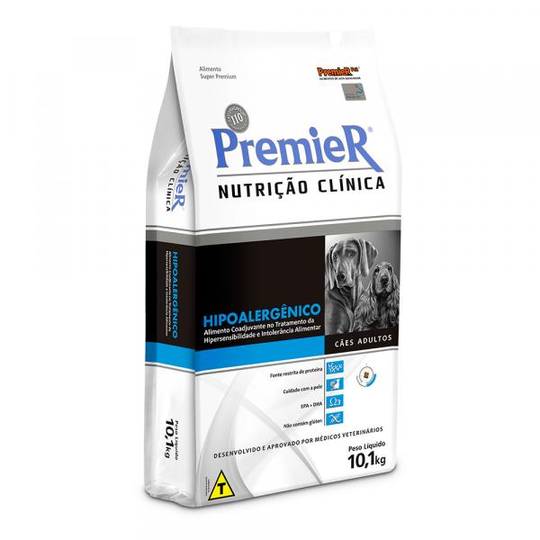 Ração Premier Hipoalergênico para Cães Adultos 10kg