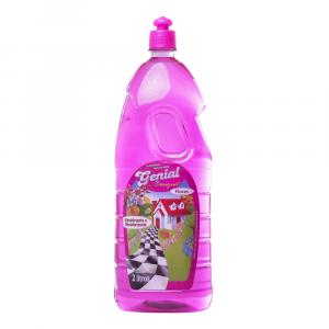 Desinfetante e Desodorizante Genial Bouquet Flores 2L