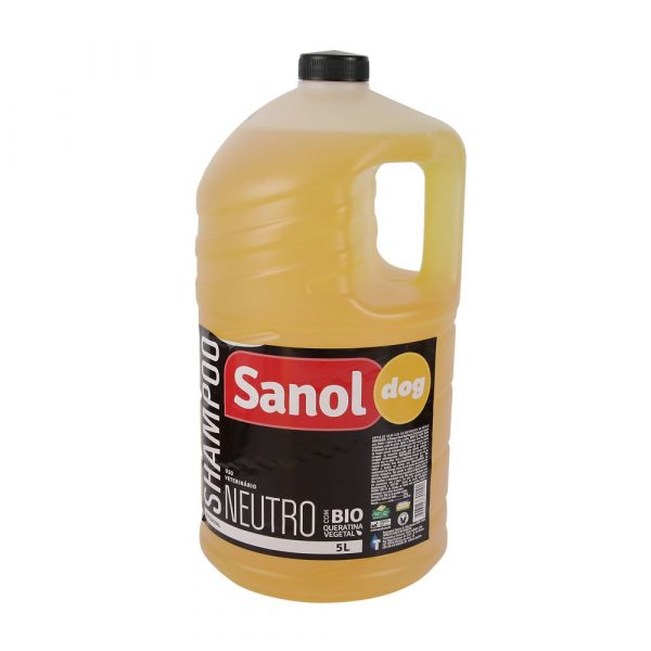 Shampoo Sanol Dog Neutro 5 Litros