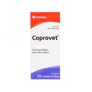 Coprovet Com 20 Comprimidos